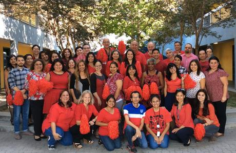 Montara Teachers United in Red
